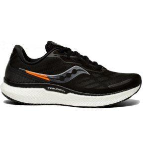 נעלי ריצה סאקוני לגברים Saucony TRIUMPH 19 - שחור