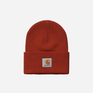 כובע קארהארט לגברים Carhartt WIP Acrylic Watch - אדום
