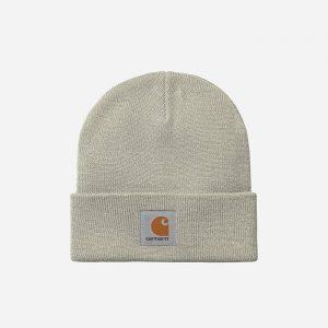 כובע קארהארט לגברים Carhartt WIP Short Watch - אפור בהיר