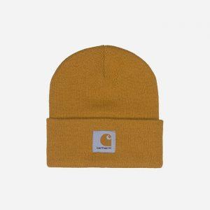 כובע קארהארט לגברים Carhartt WIP Short Watch - צהוב