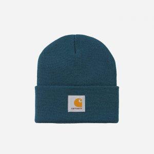 כובע קארהארט לגברים Carhartt WIP Short Watch - כחול