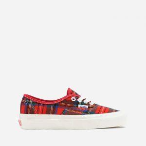 נעלי סניקרס ואנס לגברים Vans Pendleton Authentic 44 Dx - אדום