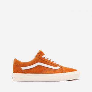 נעלי סניקרס ואנס לגברים Vans UA Old Skool Pig Suede - כתום