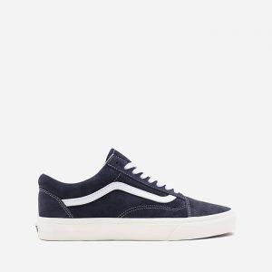 נעלי סניקרס ואנס לגברים Vans UA Old Skool Pig Suede - כחול