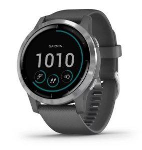 שעון גרמין לגברים Garmin Vivoactive 4 - אפור