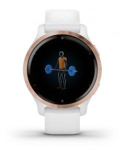 שעון גרמין לגברים Garmin Venu 2s - לבן