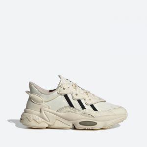 נעלי סניקרס אדידס לנשים Adidas Originals Ozweego J - בז'