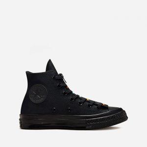 נעלי סניקרס קונברס לנשים Converse Chuck 70 Zip - שחור