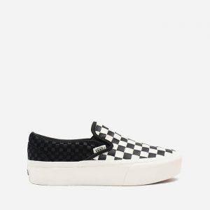נעלי סניקרס ואנס לנשים Vans UA Classic Slip-On Platform - שחור