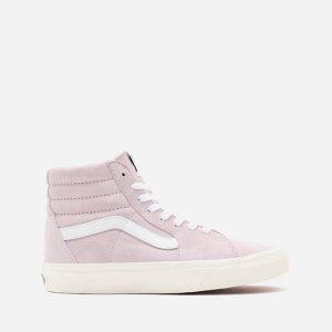 נעלי סניקרס ואנס לנשים Vans UA SK8-Hi Pig Suede - ורוד